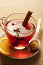Toddy or mulled wine Stock Image