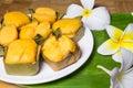 Toddy palm cake dessert Foto de Stock Royalty Free