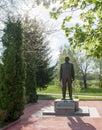 Todor Zhivkov monument Royalty Free Stock Photo