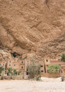 Todra gorges in morocco kasbah les roches hotel near tineghir Royalty Free Stock Photography