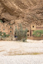 Todra gorges in morocco kasbah les roches hotel near tineghir Stock Photos