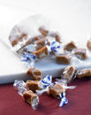 Toffee candies Stock Image