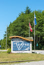 Tofino Welcome sign