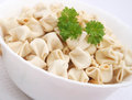Tofu noodles some vegetarian in a bowl Royalty Free Stock Photo