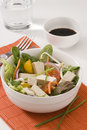 Tofu salad. Royalty Free Stock Photography