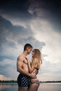Together under the sky Royalty Free Stock Photography