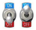 Toggle Switch Royalty Free Stock Photo
