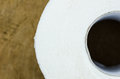 Toilet paper object in the house bathroom for clean Royalty Free Stock Image