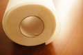 Toilet paper roll of Royalty Free Stock Images