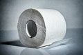 Toilet paper roll Royalty Free Stock Photo
