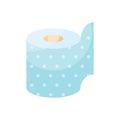 Toilet paper vector illustration.