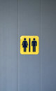 Toilet signs men and women Royalty Free Stock Images