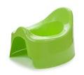 Toilet training pot for small children Stock Images