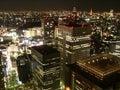 Tokyo_bynight.jpg Royalty Free Stock Image