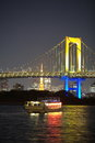 Tokyo city view,Rainbow bridge Stock Photography