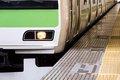 Tokyo Commuter Train Royalty Free Stock Photo