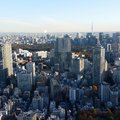 Tokyo high above the ritz carlton overlooking the city Stock Image