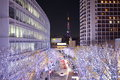 Tokyo illuminations of the christmas light japan dec at roppogi hill on dec japan Stock Photos