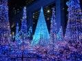 Tokyo Illuminations light up Royalty Free Stock Photo