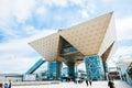 Tokyo International Exhibition Center Tokyo Big Sight in Ariake, Tokyo. Royalty Free Stock Photo