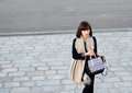 Tokyo japan circa november unidentified fashionable woman on yoyogi area has been one of the most Stock Photo