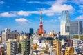 Tokyo Japan Cityscape Royalty Free Stock Photo