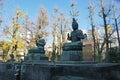 Tokyo, Japan - Japanese Buddha God statue Royalty Free Stock Photo