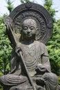Tokyo - Japan, June 19, 2017; Stone Buddha statue at the Senso-j Royalty Free Stock Photo