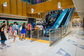 TOKYO, JAPAN JUNE 28 - 2017: Unidentified people walking upstairs at Tokyo Shibuya station in Tokyo. With 2.4 million Royalty Free Stock Photo