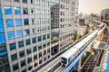 Tokyo Japan Monorail Royalty Free Stock Photo