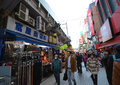 Tokyo japan november ameyoko market in ueno district at once an entertainment for us Royalty Free Stock Image