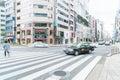 TOKYO, JAPAN - November 16 , 2016 : Cityscape at Tokyo Ginza Dis