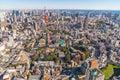 TOKYO, JAPAN - 26 NOVEMBER 2015 - The Tokyo  Kanto region and To Royalty Free Stock Photo