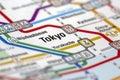 Tokyo Metro Stations Map