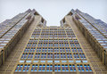 Tokyo metropolitan government building the is the headquarters of the which governs the wards but Royalty Free Stock Image