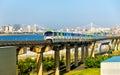 Tokio jednokoľajnicové visutá dráha linka na medzinárodný letisko