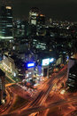 Tokyo at night Royalty Free Stock Photos