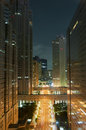 Tokyo night view in the shinjuku district Royalty Free Stock Photography