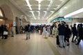 TOKYO -NOV 23 : people walking in Shinjuku train station Royalty Free Stock Photo