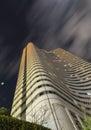 Tokyo skyscraper long exposure of building in japan Royalty Free Stock Images