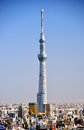 Tokyo skytree december in jp the is the world s second tallest structure Royalty Free Stock Photo