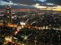 Tokyo twilight, Japan Royalty Free Stock Photo
