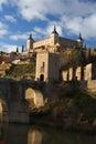 Toledo i Spanien Royaltyfria Bilder