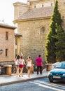Toledo que visita Foto de archivo