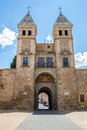 Toledo s gate spain or puerta de in madrid Stock Photo