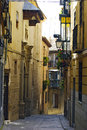 Toledo, Sapin - typical narrow streets Royalty Free Stock Photo