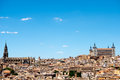 Toledo spain this image shows the medieval town of Stock Photos