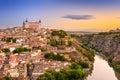 Toledo Spain Skyline Royalty Free Stock Photo