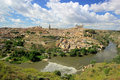 Toledo town Panorama Royalty Free Stock Photography