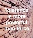 Tolerance in relationships